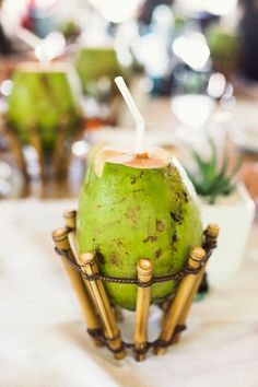 Experiencing the Brazilian summer and the glory of the falls at Hotel das Cataratas. Tropical, Caribbean Recipes, Coconut Water, Caramel Apples, Happy Hour, Food Art, Food Inspiration, Brazil, Food Photography