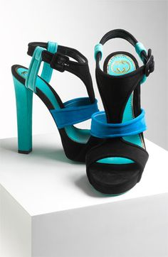 pinterest.com/fra411 #shoes - Platform Sandal Gucci