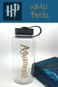 I need to drink more water! What better than a Harry Potter Water Bottle? #ad #affiliate #etsyfinds #harrypotter #harrypotterfan #Augamenti #magic #spells #oybpinners