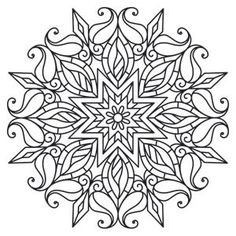 black and white pictures of intricate art to color - Google Search