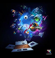 Wacom - Make the World Your Studio by Ars Thanea