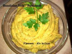 BEAUTICIAN. STELA: HUMMUS din HRISCA (vegan/ de post) Hummus, Tahini, Mashed Potatoes, Cabbage, Vegetables, Ethnic Recipes, Food, Fine Dining, Salads