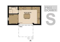 mini house Set You Free, Floor Plans, Mini, House, Design, Home, Homes, Floor Plan Drawing