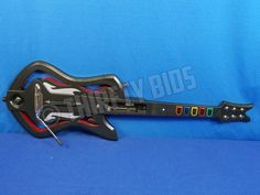 Guitar Hero Warriors of Rock Controller for Nintendo Wii No Strap Fully Tested #Activision