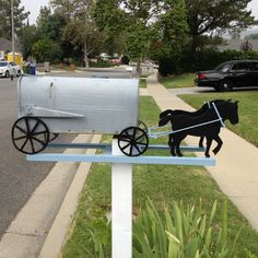 What about this mailbox ??? Nice Creativity...