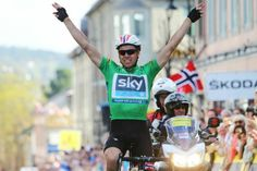 EBH wins stage 4 of the Tour of Norway, going into race lead