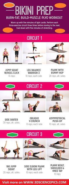 Burn-Fat, Build-Muscle Plyo Workout | Medi Villas