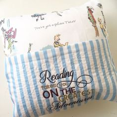 dc98f3b2b Charlie & The Chocolate factory reading pillow cushion 2. Reading PillowPersonalised  BabyNursery AccessoriesChocolate FactoryUk ...