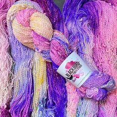 Fingering Yarn, More Than One, Blackbird, Finger Weights, Wild And Free, Fiber, Wool, Studio, Purple