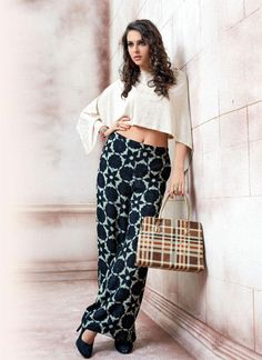 Ready to ship #bottom wear #palazzo #pants online shopping. Contact us: +91 9824678889 Email id: sales@manjaree.in