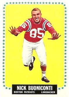 3 - Nick Buoniconti - Boston Patriots