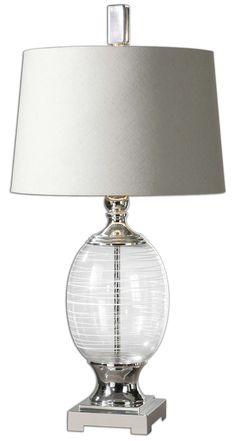 Pateros Swirl Glass Lamp