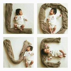 baby photoshoot Amazing Baby Photoshoot Ideas At Home - DIY - ABC of Parenting Monthly Baby Photos, Newborn Baby Photos, Baby Poses, Baby Boy Photos, Newborn Pictures, Baby Boy Newborn, Baby Pictures, Newborn Photography Poses, Newborn Baby Photography
