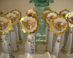 Tubete Anjo Dourado