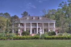 White Oak Plantation in Baton Rouge, Louisiana. Owned by Chef John Folse.