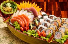 fotos sushi e sashimi - Pesquisa Google