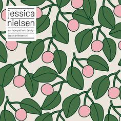 surface pattern design by Jessica Nielsen Surface Pattern Design, Pattern Art, Textures Patterns, Fabric Patterns, Scandinavian Pattern, Pretty Patterns, Pattern Illustration, Grafik Design, Graphic Patterns