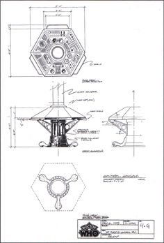 Tardis Interior Blueprints