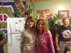 Me with Megan Elizabeth from EasyToBeRaw! Met her the day I met Arnold Kauffman on September 28, 2013.