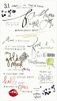 whimsical fonts.