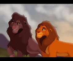 Friendly Advice by SEGAmastergirl on DeviantArt Lion King Tree, Lion King Fan Art, Lion King 2, Lion King Movie, Lion Art, Disney Lion King, The Lion King Characters, Lion Sketch, Lion King Drawings