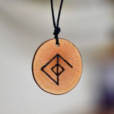 Viking Necklace Rune Necklace Love Amulet Attraction Love Runes Amulet Virility Norse Pendant Mythology Wicca Bindrune Love Talisman for Man