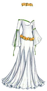 """White Gown (temporary)"" [Liana's Paper Doll Blog]"