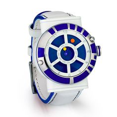 Designer Star Wars R2-D2 Watch ::  25 Geeky Watches You Didn't Even Know You Needed.
