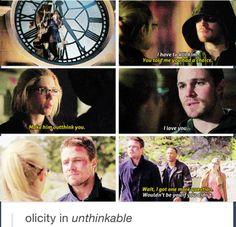 Arrow - Oliver & Felicity #2.23 #Season2 #Olicity
