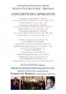 Programma OSGL Capodanno 2014 Brindisi