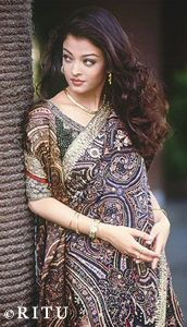Aishwarya Rai Bachchan in a photoshoot for Ritu Kumar