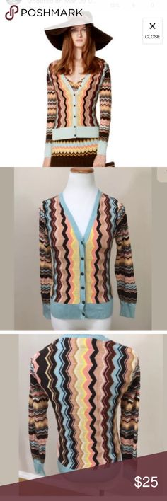 Missoni for Target chevron sweater Worn once Missoni Sweaters Cardigans