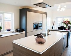 Mr Mrs Baldwin - Real Customer Kitchens from in-toto kitchens Southport