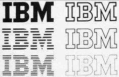 Paul Rand - IBM logo