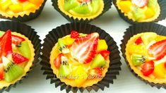 Jelly Recipes, Tart Recipes, Cookie Recipes, Chinese New Year Cookies, New Years Cookies, Mooncake Recipe, Shortcrust Pastry, Fruit Tart, Chiffon Cake
