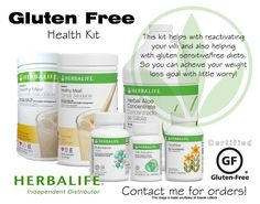Being as conscious as we are about the overall health of each and every person, Herbalife offers products in GLUTEN-FREE and KOSHER!!!  Goherbalife.com/giffordwellness