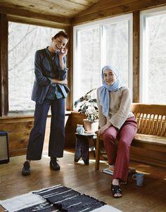 Hana Tajima and UNIQLO Fall/Winter 2016