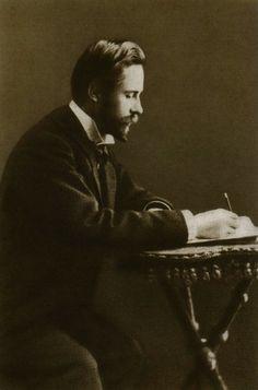 zolotoivek: Aleksandr Scriabin writing, 1901.