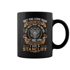 STANCLIFF Brave Heart Name Mugs #Stancliff