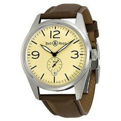 Bell and Ross Vintage Watch BRV123-BEI-ST-SCA