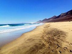 la playa spettacolare di Cofete sud