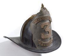 Cincinnati Offers a Hotbed of Early Firefighter Collectibles Fire Helmet, Helmet Armor, Fire Dept, Fire Department, Firefighter Paramedic, Firefighter Decor, Fireman Hat, Red Engine, Fire Equipment