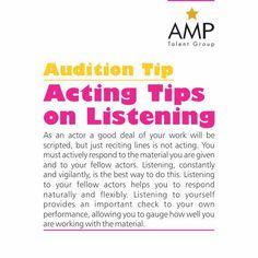 Acting is reacting (Philip Seymour Hoffman)
