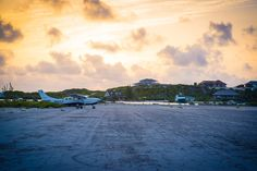 Sunrise Over Staniel Cay Airport