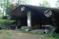 This sauna is made and owned by my cousin. It´s an huge smokesauna. www.roppilax.fi