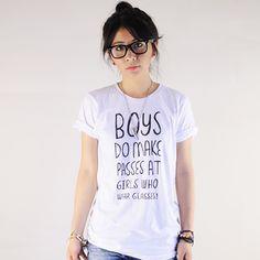 Geek Chic Glasses Tee