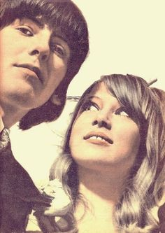 George Harrison and Pattie Boyd-Harrison