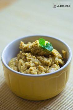 jadłonomia · roślinne przepisy: Pasta do chleba? Humus z wasabi!