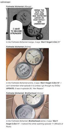 Differences between Fullmetal Alchemist and Brotherhood