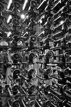 Singer sewing machines - All Saints shop front, Glasgow